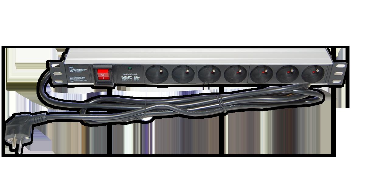 Bandeau Lumineux Avec Prise Courant : Bandeau de prise électrique pouces u cobox matériel