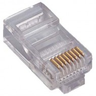 Connecteur RJ45 Cat-6 + Monchon (Kit de 10pcs)