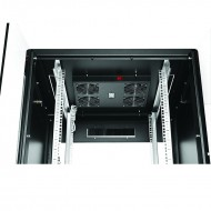 Baie de brssage en kit, 42U, 600X600, noir