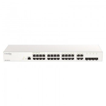 Nuclias Switch 24 Ports Giga + 4 Combo SFP