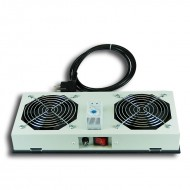 Kit de ventilation, 2 fans, On/Off pour coffret Lande Netbox