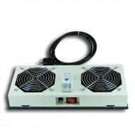 Kit de ventilation, 2 fans, On/Off pour coffret Lande Netbox