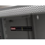 Coffret mural 19 pouces 7U, Lande Netbox, 600X450mm