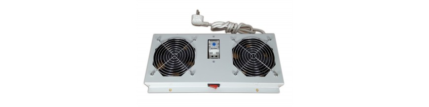2 fans pour coffret IP55 Kit de ventilation 2 fans pour coffret IP55 Kit de ventilation Cobox Kit de ventilation, 2 fans, On/Of