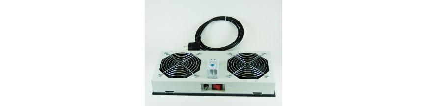 2 fans pour coffret Netbox Kit de ventilation 2 fans pour coffret Netbox Kit de ventilation Cobox Kit de ventilation, 2 fans, O
