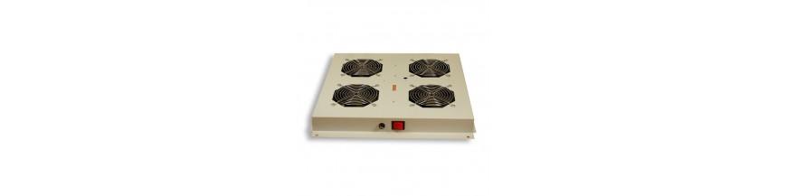 4 fans pour baie serveur Kit de ventilation 4 fans pour baie serveur Kit de ventilation Cobox Kit de ventilation, 4 fans, On/Of
