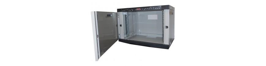 16U - P:450mm Coffret Mural 19 pouces 16U - Profondeur 450mm Netbox Cobox Coffret mural 19 pouces 16U profondeur 450mm