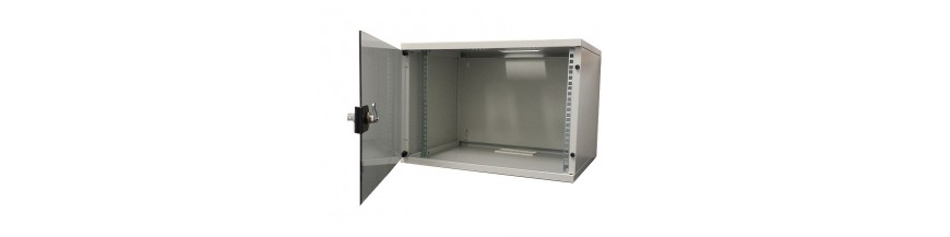 9U - P:400mm Coffret Mural 19 pouces, 9U - En kit , 540X400mm Soho - En kit Cobox Coffret mural 19 pouces, 9U, Lande SOHO, en k