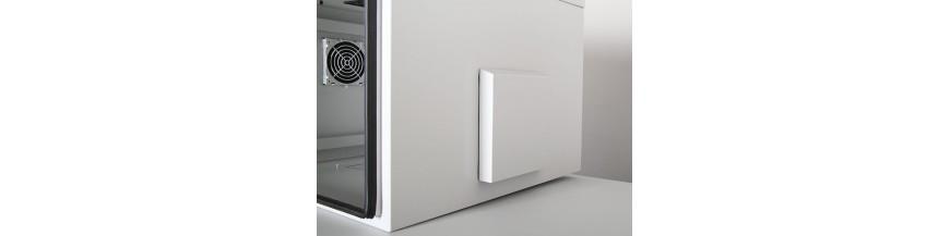 12U - P:450mm Coffret Mural 19 pouces Etanche IP55, 12U profondeur 450mm Safebox - IP55 Cobox Coffret Etanche IP55 12U 600X450m