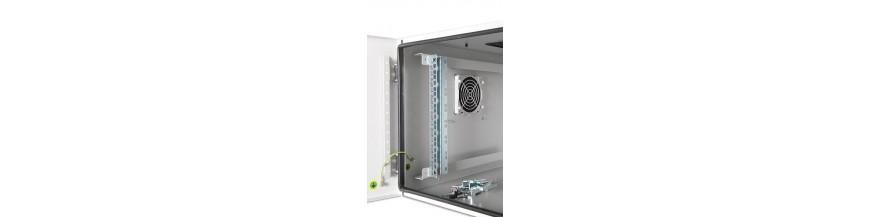 16U - P:450mm Coffret Mural 19 pouces Etanche IP55, 16U profondeur 450mm Safebox - IP55 Cobox Coffret Etanche IP55 16U 600X450m