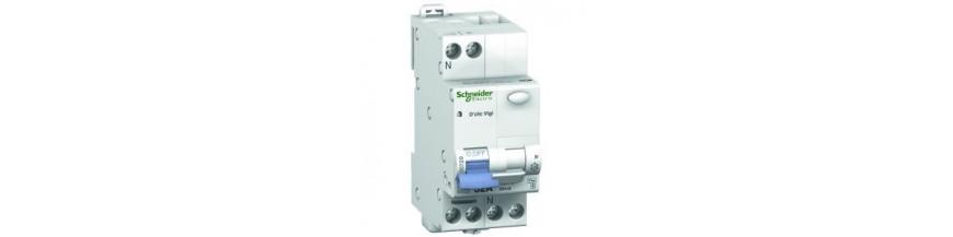 Disjoncteur différentiel  16A 30mA Disjoncteur différentiel 16A 30mA, Schneider Disjoncteurs Cobox Disjoncteur différentiel 16A
