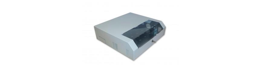 5U - 530x470x150mm Coffret mural 19 pouces 5U, (3U vertical + 2U horizontale) Lande Slimbox P : 470mm Slimbox Cobox Coffret mur