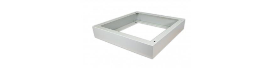 Plinthes IP55 600x600mm Plinthes pour coffret IP55 600X600x100mm Hauteur : 100mm Support Cobox Plinthe pour coffret Lande Safeb