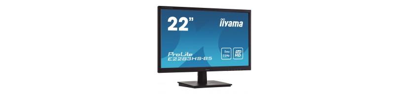 "Moniteur LED 21,5"" Full HD VGA/DP/HDMI HP"