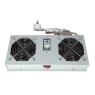 Kit de ventilation, 2 fans, On/Off, thermostat pour coffret Safebox IP55