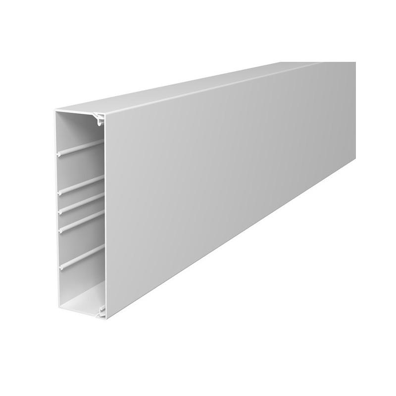 goulotte de distribution 200x60 pvc blanc cobox mat riel r seau informatique. Black Bedroom Furniture Sets. Home Design Ideas